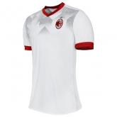 16-17 AC Milan Away White Training Kit(Without Logo)