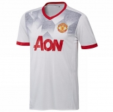 16-17 Manchester United White Training Kit(Without Logo)