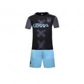 16-17 Ajax Away Navy Jersey Kit(Without Logo)