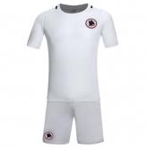 16-17 Roma Away White Jersey Kit(Without Logo)