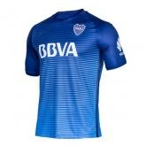 16-17 Boca Juniors Away Blue Jersey Kit(Without Logo)