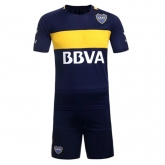 2017 Boca Juniors Home Navy Jersey Kit(Without Logo)