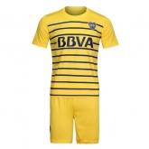 16-17 Boca Juniors Away Yellow Jersey Kit(Without Logo)