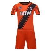 16-17 River Plate Away Orange Jersey Kit(Without Logo)