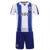 16-17 Porto Home Soccer Jersey Kit(Without Logo)