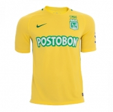 17-18 Atletico National Away Yellow Jersey Shirt