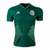2017 Mexico Home Green Women's Jersey Shirt