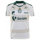 17-18 Santos Laguna Away White Soccer Jersey Shirt