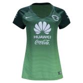 16-17 Club America Third Away Green Women's Jersey Shirt
