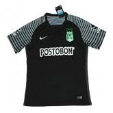 17-18 Atletico National Third Away Black Jersey Shirt