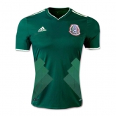 2017 Mexico Home Green Soccer Jersey Shirt