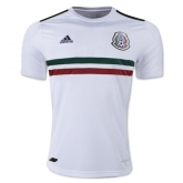 2017 Mexico Away White Soccer Jersey Shirt