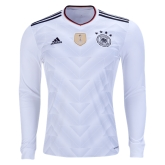 2017 Germany Confed Cup Home Long Sleeve Jersey Shirt