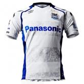 17-18 Gamba Osaka Away White Soccer Jersey Shirt