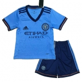 17-18 New York City Home Children's Jersey Kit(Shirt+Short)