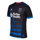 17-18 San Jose Earthquakes Home Soccer Jersey Shirt