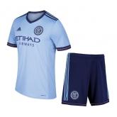 17-18 New York City Home Soccer Jersey Kit(Shirt+Short)