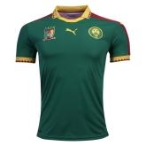 2017 Cameroon Home Green Soccer Jersey Shirt