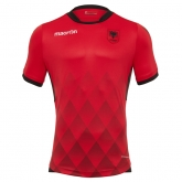 2017 Albania Home Red Soccer Jersey Shirt