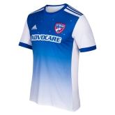 17-18 FC Dallas Away Blue Soccer Jersey Shirt