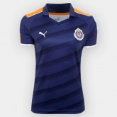 17-18 Deportivo Guadalajara Third Away Navy Women's Jersey Shirt