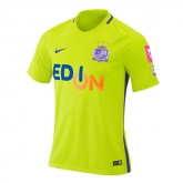 17-18 Sanfrecce Hiroshima Away Green Jersey Shirt