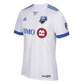 17-18 Montreal Impact Away White Soccer Jersey Shirt