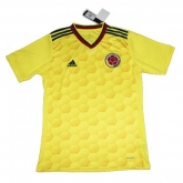 2017 Colombia Home Yellow Soccer Jersey Shirt
