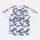17-18 Shimizu S-Pulse Away White Soccer Jersey Shirt