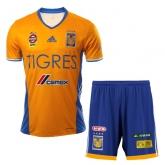 16-17 Tigres UANL Home Yellow Soccer Jersey Kit(Shirt+Short)