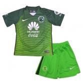16-17 Club America Third Away Green Children's Jersey Kit(Shirt+Short)