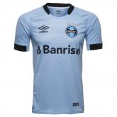 17-18 Grêmio FBPA Away Gray Soccer Jersey Shirt