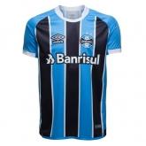 17-18 Grêmio FBPA Home Soccer Jersey Shirt