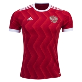 2017 Russia Home Red Soccer Jersey Shirt
