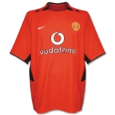 02-03 Manchester United Home Jersey Shirt