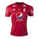 17-18 América de Cali Home Red Jersey Shirt