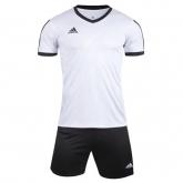 1601 Customize Team White Soccer Jersey Kit(Shirt+Short)