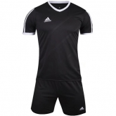 1601 Customize Team Black Soccer Jersey Kit(Shirt+Short)