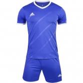 1601 Customize Team Blue Soccer Jersey Kit(Shirt+Short)