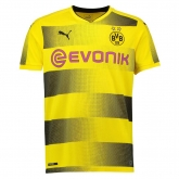 17-18 Borussia Dortmund Home Soccer Jersey Shirt