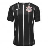 17-18 SC Corinthians Away Black Jersey Shirt