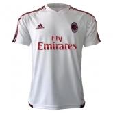 17-18 AC Milan White Training Jersey Shirt