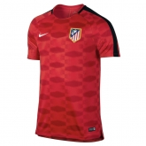 17-18 Atletico Madrid Red Training Jersey Shirt