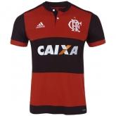 17-18 CR Flamengo Home Soccer Jersey Shirt
