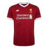 17-18 Liverpool Home Soccer Jersey Shirt