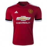 17-18 Manchester United Home Jersey Shirt(Player Version)