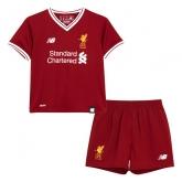 17-18 Liverpool Home Children's Jersey Kit(Shirt+Short)