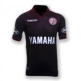 17-18 CA Lanús Third Away Black Soccer Jersey Shirt