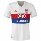 17-18 Olympique Lyonnais Home White Jersey Shirt