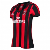 17-18 AC Milan Home Women's Jersey Shirt
